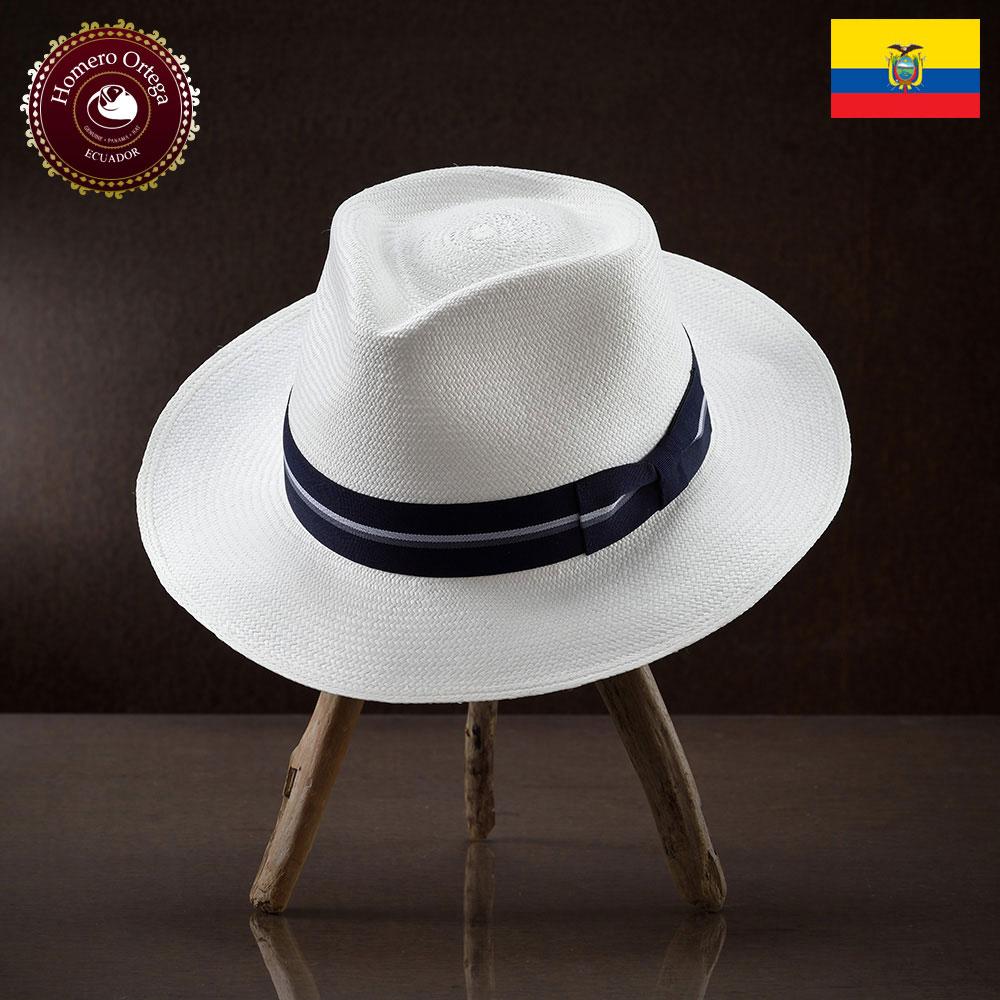 パナマ帽 メンズ レディース パナマハット 麦わら帽子 中折れハット S M L XL 白 パナマ帽子 紳士帽 メンズハット 帽子 ハット エクアドル 大きいサイズ あす楽 プレゼント オメロオルテガ テハドホワイト 送料無料
