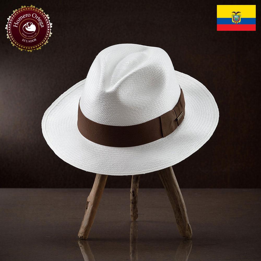 パナマ帽 メンズ レディース パナマハット 本パナマ 中折れハット S M L XL ホワイト パナマ帽子 紳士帽 メンズハット 帽子 ハット エクアドル 大きいサイズ あす楽 プレゼント オメロオルテガ タピア 送料無料