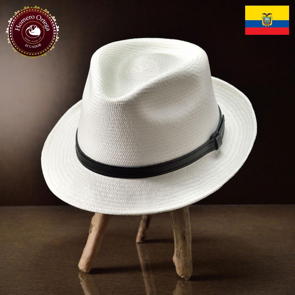 パナマ帽 メンズ レディース パナマハット 本パナマ 中折れハット S M L XL 白 パナマ帽子 紳士帽 メンズハット 帽子 ハット エクアドル 大きいサイズ あす楽 プレゼント Homero Ortega シグノ 送料無料