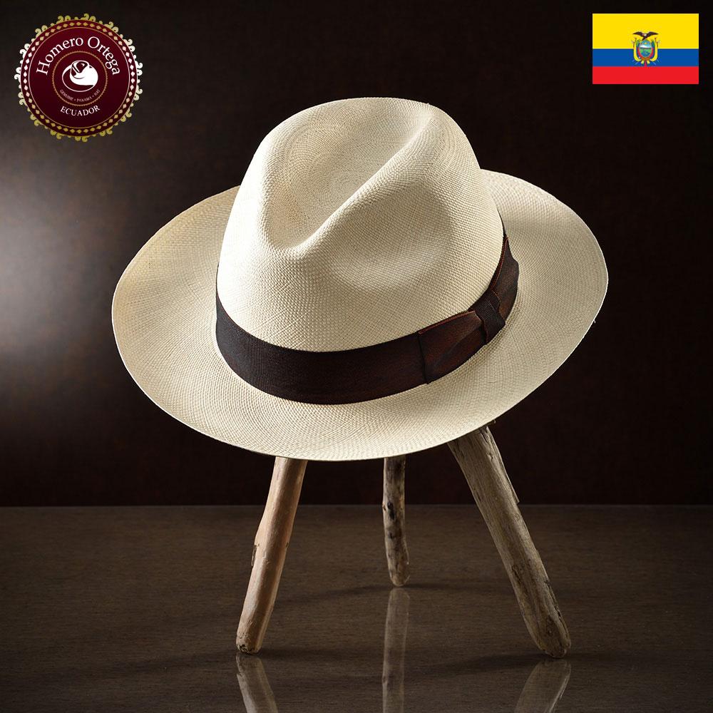 パナマ帽 メンズ レディース パナマハット 麦わら帽子 中折れ帽 ナチュラル パナマ帽子 紳士帽 メンズハット 帽子 ハット エクアドル 大きいサイズ プレゼント S M L XL HomeroOrtega マルテ 送料無料 あす楽