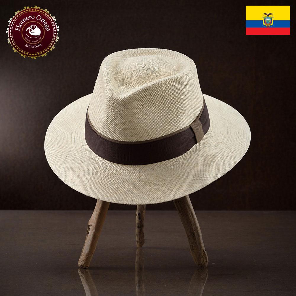 パナマ帽 メンズ レディース パナマハット 麦わら帽子 中折れ帽 S M L XL ナチュラル パナマ帽子 紳士帽 メンズハット 帽子 ハット エクアドル 大きいサイズ あす楽 プレゼント Homero Ortega セバダ 送料無料