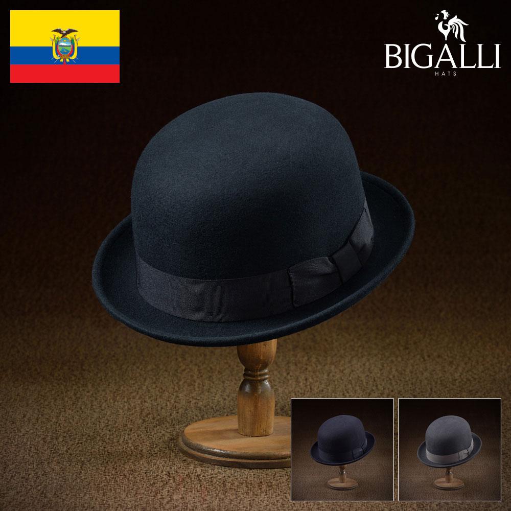 世代を超えて愛されるボーラーハット 日常を舞台のように闊歩するそんな人にお送りするアイテム フェルトハット メンズ 秋冬 中折れハット フェルト帽子 期間限定お試し価格 ボーラーハット レディース ハット 帽子 激安セール フェルト帽 紳士 大きいサイズ あす楽 メンズ帽子 BIGALLI L プレゼント 紳士帽 ギフト S 送料無料 フォーマル M ロンダ 敬老の日 XL