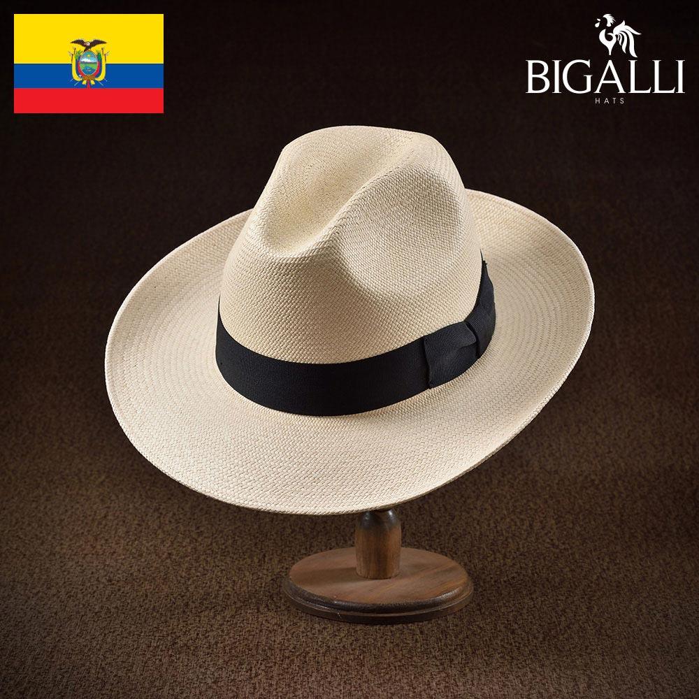 パナマハット メンズ レディース パナマ帽 中折れ帽子 フェドラハット 帽子 紳士 春 夏 春夏 大きいサイズ S M L XL エクアドル製 BIGALLI [アクトール] 紳士帽 メンズ帽子 ギフト プレゼント あす楽 送料無料 送料無料