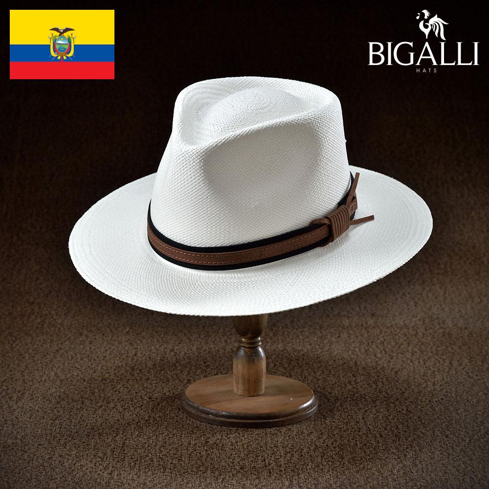 パナマハット パナマ帽 BIGALLI ビガリ VOLAR ボラール メンズ レディース 男性 女性 帽子 ハット エクアドル製 本パナマ草 トキヤ草 手編み ストローハット 麦わら帽子 大きいサイズ 父の日 ギフト あす楽
