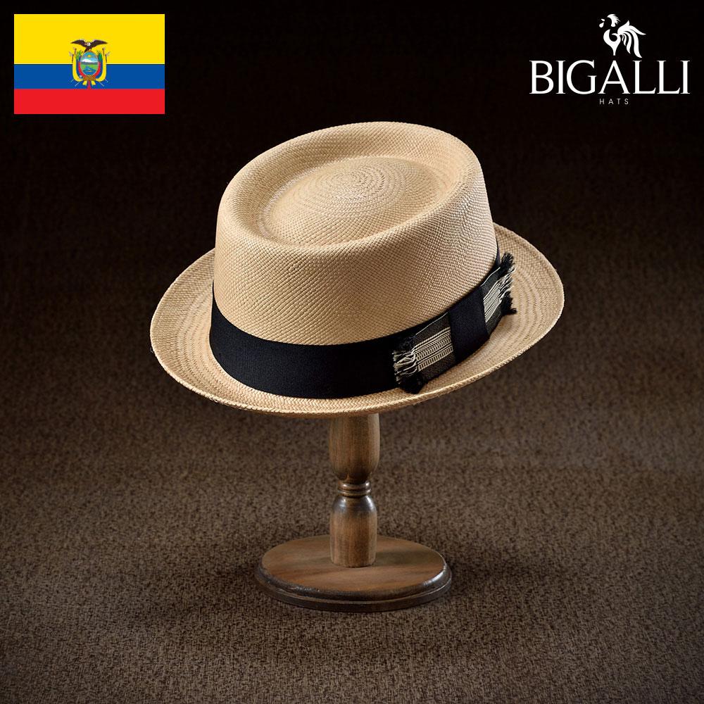 パナマハット パナマ帽 BIGALLI ビガリ RONDADOR ロンダドール メンズ レディース 男性 女性 帽子 ハット エクアドル製 本パナマ草 トキヤ草 手編み ストローハット 麦わら帽子 大きいサイズ 父の日 ギフト あす楽