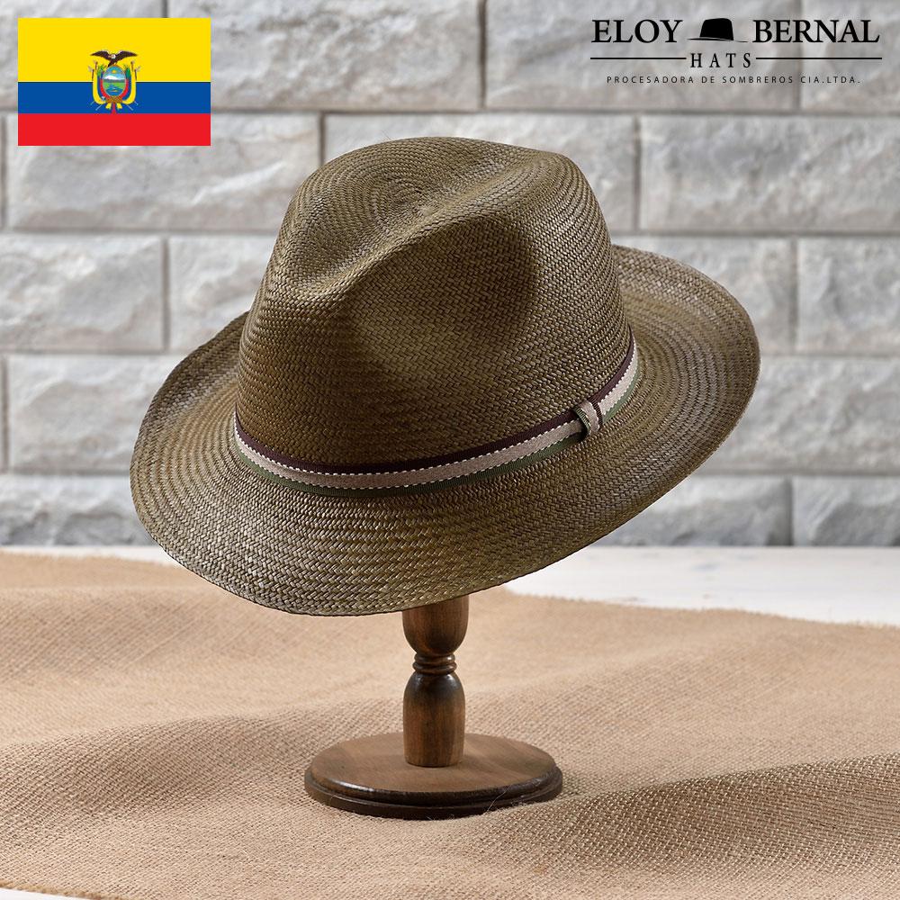 パナマハット メンズ レディース パナマ帽 本パナマ パナマ帽子 紳士 ハット 帽子 中折れ帽子 大きいサイズ ホワイト カーキ ナチュラル ブルー グレー ブラック S M L XL エクアドル製 ELOY BERNAL [エスカレラ] あす楽