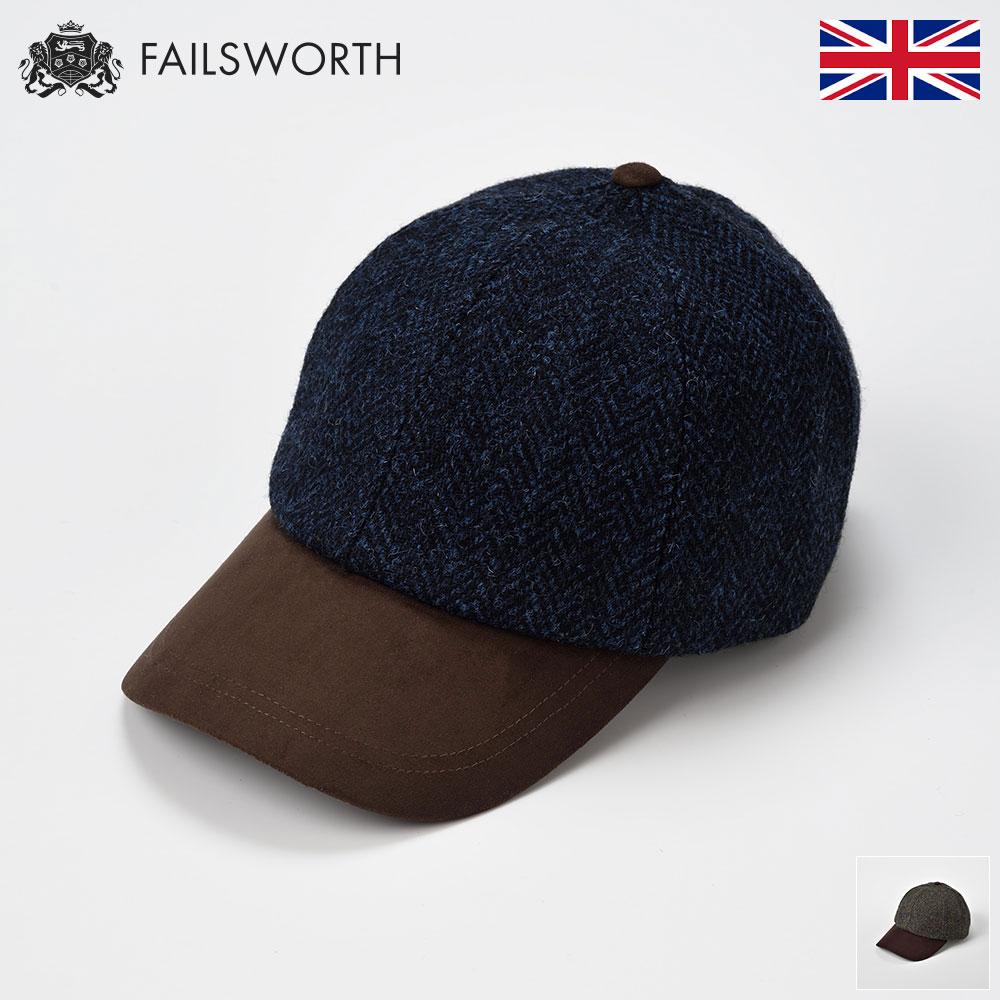キャップ メンズ レディース 帽子 セール特価 秋冬 ハリスツイード CAP 人気のハリスツイードにベースボールキャップが登場 サイズ調整可で あなたらしく決まる待望の一品 野球帽 大きいサイズ あす楽 イギリス メンズ帽子 プレゼント 迅速な対応で商品をお届け致します サイズ調整可 フリーサイズ ハリスツイードベースボール フェイルスワース 紳士帽子 英国 送料無料