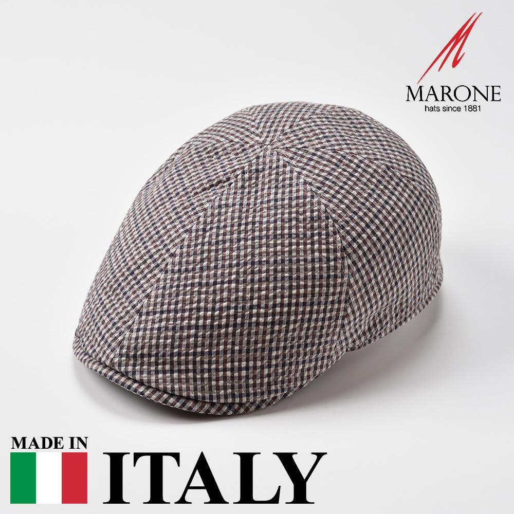 【ハンチング(キャスケット)/MARONE(マローネ)】Porta(ポルタ)≪おしゃれなデザインのイタリア製ハンチング帽/春夏/メンズ/レディース/男性/女性/ハンチング帽子/キャップ/大きいサイズ/ギフト/あす楽≫