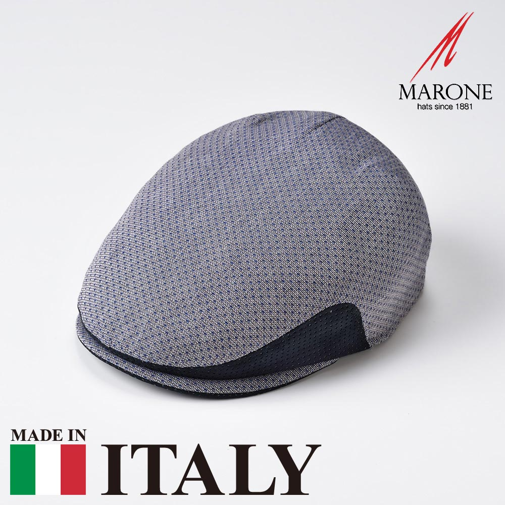 【ハンチング(キャスケット)/MARONE(マローネ)】Perlina(ペルリーナ)≪おしゃれなデザインのイタリア製ハンチング帽/春夏/メンズ/レディース/男性/女性/ハンチング帽子/キャップ/大きいサイズ/ギフト/あす楽≫