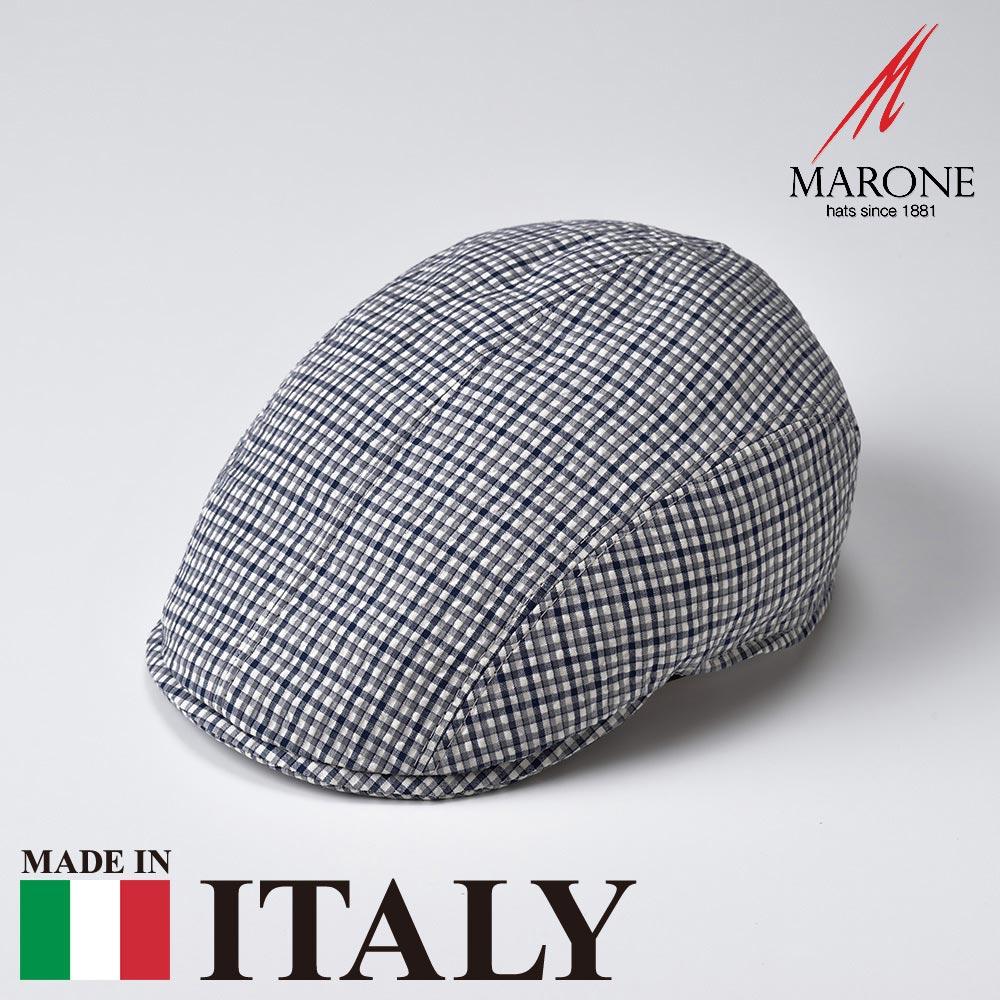 【ハンチング(キャスケット)/MARONE(マローネ)】Targa(タルガ)≪おしゃれなデザインのイタリア製ハンチング帽/春夏/メンズ/レディース/男性/女性/ハンチング帽子/キャップ/大きいサイズ/ギフト/あす楽≫