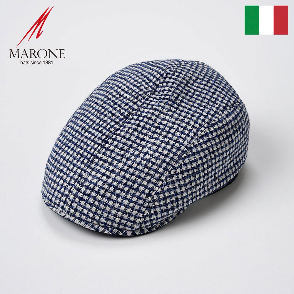 【ハンチング(キャスケット)/MARONE(マローネ)】Cubo(クーボ)≪おしゃれなデザインのイタリア製ハンチング帽/春夏/メンズ/レディース/男性/女性/ハンチング帽子/キャップ/大きいサイズ/ギフト/あす楽≫