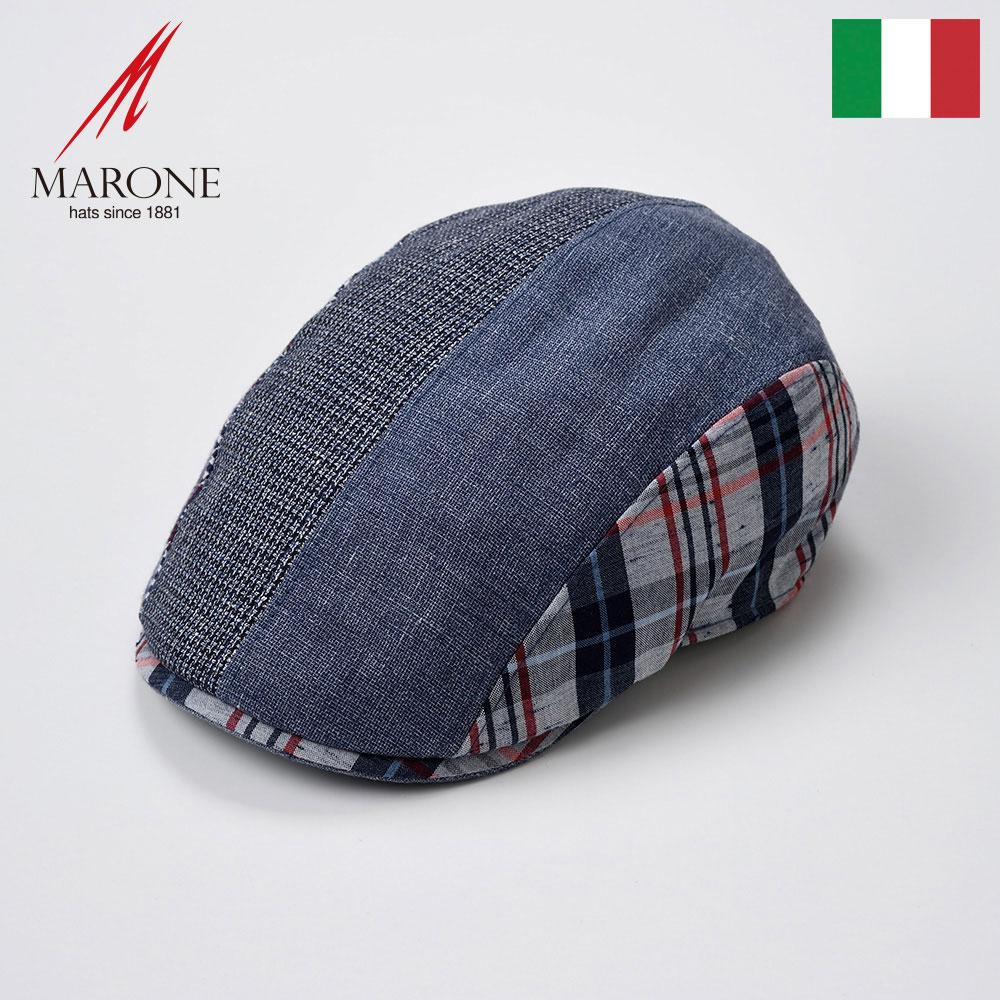 【ハンチング(キャスケット)/MARONE(マローネ)】Vicolo(ヴィコロ)≪おしゃれなデザインのイタリア製ハンチング帽/春夏/メンズ/レディース/男性/女性/ハンチング帽子/キャップ/大きいサイズ/ギフト/あす楽≫