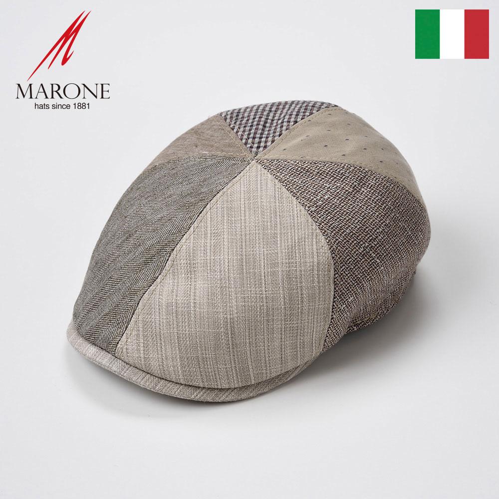 【ハンチング(キャスケット)/MARONE(マローネ)】Prova(プローヴァ)≪おしゃれなデザインのイタリア製ハンチング帽/春夏/メンズ/レディース/男性/女性/ハンチング帽子/キャップ/大きいサイズ/ギフト/あす楽≫
