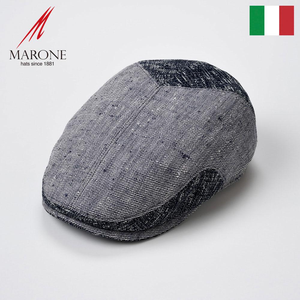 【ハンチング(キャスケット)/MARONE(マローネ)】Camicia(カミーチャ)≪おしゃれなデザインのイタリア製ハンチング帽/春夏/メンズ/レディース/男性/女性/ハンチング帽子/キャップ/大きいサイズ/ギフト/あす楽≫