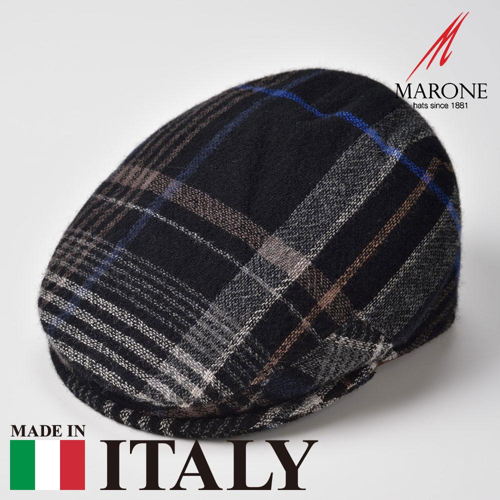 【ハンチング(キャスケット)/MARONE(マローネ)】Gatto(ガット)≪おしゃれなデザインのイタリア製ハンチング帽/秋冬/メンズ/レディース/男性/女性/ハンチング帽子/キャップ/大きいサイズ/ギフト/あす楽≫