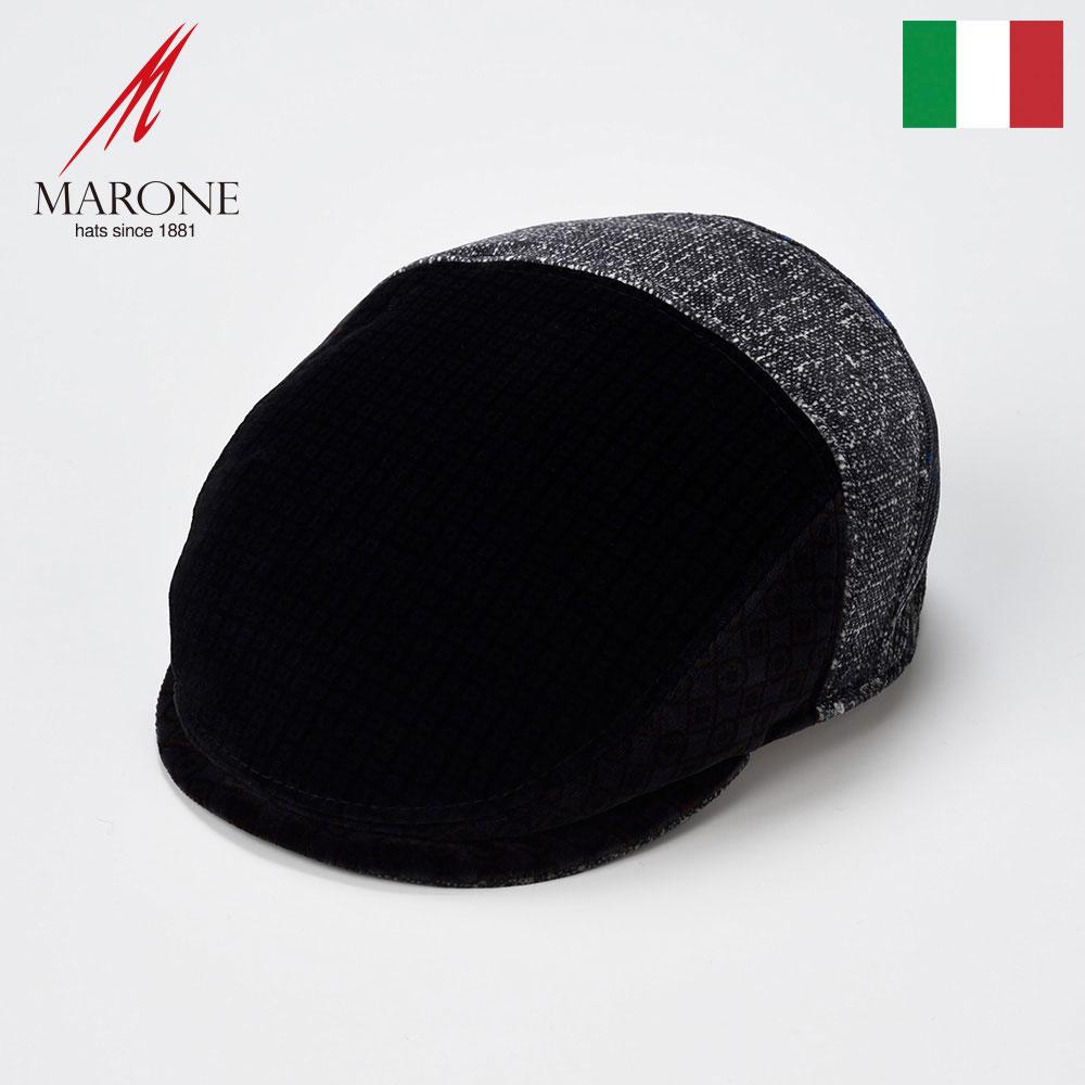 帽子 ハンチング メンズ レディース ハンチング帽子 キャスケット 紳士帽 キャップ 秋冬 大きいサイズ 55cm 57cm 59cm 61cm MARONE マローネ [ポスタ] 紳士帽子 メンズ帽子 プレゼント 送料無料 あす楽