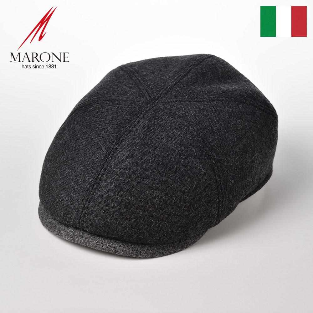 MARONE ハンチング ハンチングベレー 男性 女性 ブランド帽子 グレー系の濃淡で魅せる上品ツートン バイザー裏のベージュが差し色に 軽くて暖かいバージンウール仕様 マローネ ハンチング帽子 メンズ 秋冬 大きいサイズ イタリア製 送料無料 レディース ウール100% シックスパネル BT887 紳士帽 デトロイト ウール あす楽 鳥打帽 シンプル プレゼント 正規店 ブラック ハンチングキャップ 格安