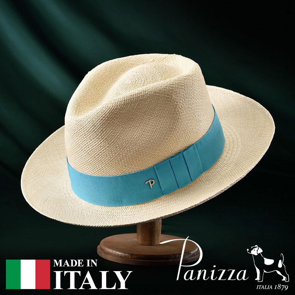 パナマ帽 メンズ レディース パナマハット 中折れ帽子 フェドラハット 帽子 紳士 春夏 S M L XL ナチュラル Panizza パニッツァ [ミンドナチュラレ] 紳士帽 メンズ帽子 紳士ハット プレゼント 送料無料