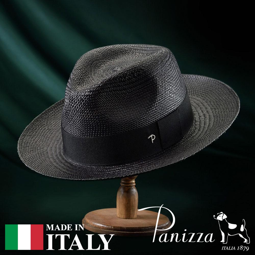 【高級パナマハット(パナマ帽)/Panizza(パニッツァ)】DORADO(ドラド)≪イタリアの高級老舗ブランドが作るおしゃれなパナマハット(中折れハット)メンズ/レディース/男性/女性/帽子/ハット/大きいサイズ/ギフト/あす楽≫