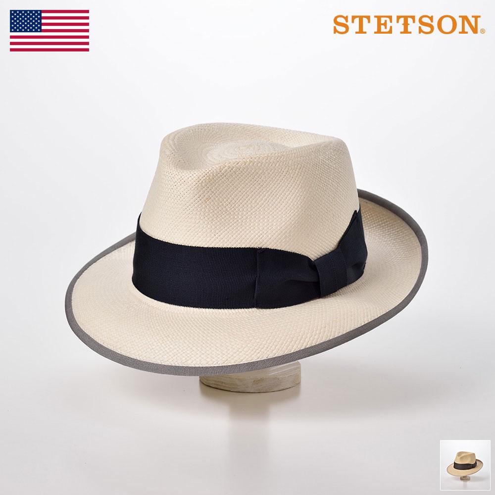ステットソン STETSON パナマハット パナマ帽 メンズ レディース 中折れハット ハット 帽子 紳士 大きいサイズ 春 夏 春夏 ホワイト ナチュラル 57cm 59cm 61cm [マニッシュSH644] メンズ帽子 送料無料 あす楽 送料無料