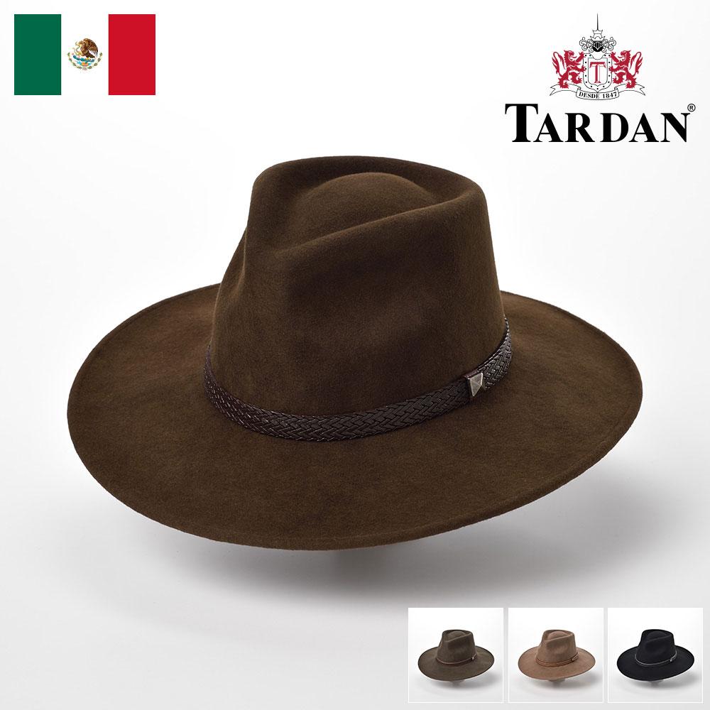 フェルトハット ウエスタンハット 中折れ クラッシャブル ハット 帽子 フェルト帽 折り畳める メンズ 紳士 大きいサイズ フォーマル S M L XL TARDAN タルダン [オーストラリアーノコンフォート] メンズ帽子 送料無料 あす楽