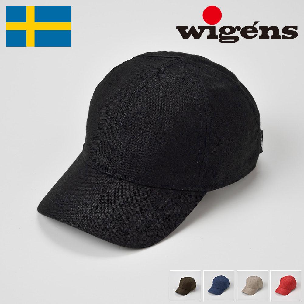 メンズ レディース キャップ 春夏 野球帽 カジュアル 帽子 紳士 大きいサイズ ブラック レッド カーキ ネイビー オリーブ 56 58 60 62 64cm Wigens [ベースボールキャップW120366] メンズ帽子 送料無料 あす楽 送料無料