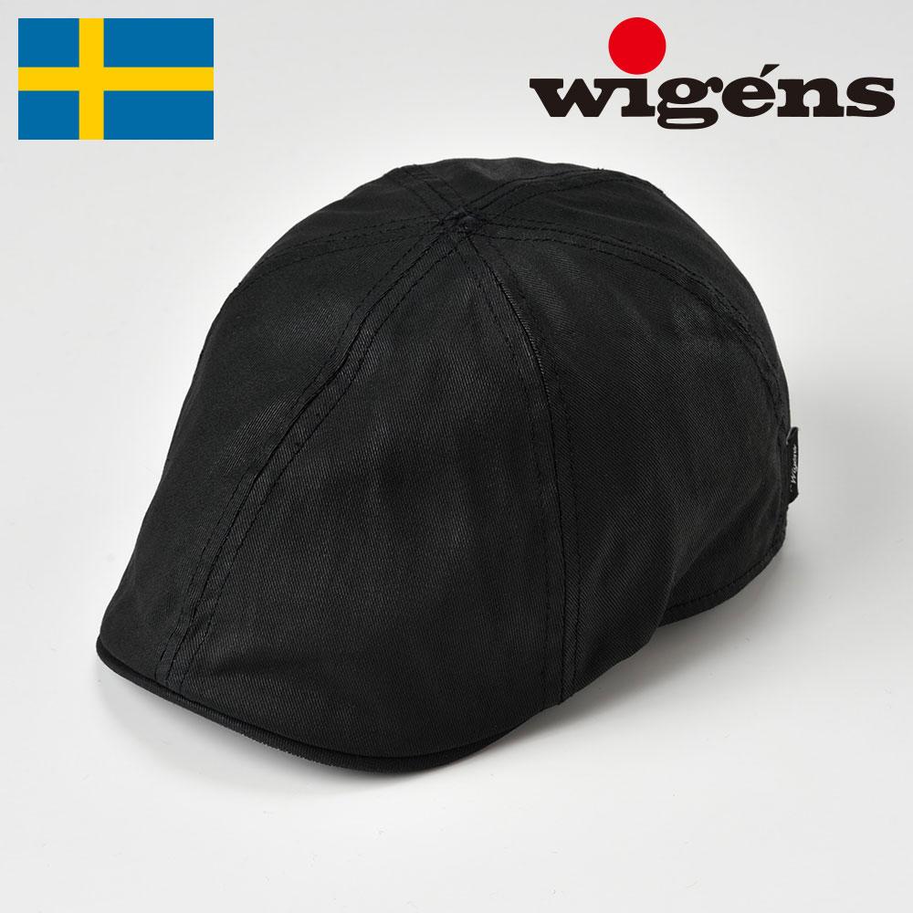 ハンチング メンズ ハンチング帽 キャスケット 帽子 レディース 紳士 春 夏 秋 冬 ブラック 黒 56cm 58cm 60cm 62cm Wigens ヴィゲーンズ ヴィゲンズ ヴィーゲン [パブキャップW101323] メンズ帽子 あす楽 送料無料