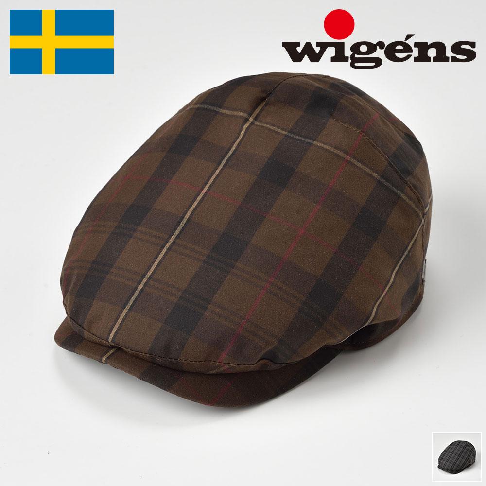 ハンチング メンズ ハンチング帽 帽子 キャスケット レディース 紳士 春 夏 秋 冬 ブラウン グレー 56cm 58cm 60cm 62cm Wigens ヴィーゲン [アイビー ワンピースキャップW101333] メンズ帽子 あす楽 送料無料