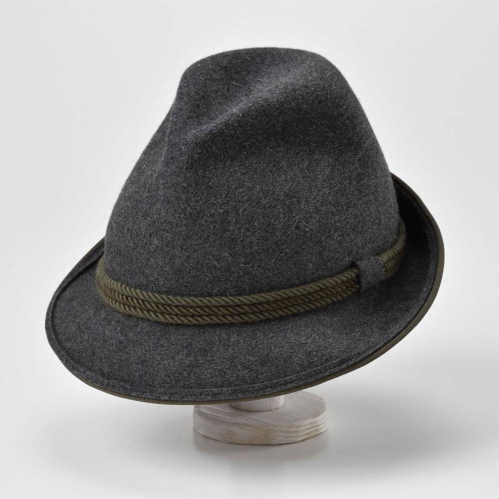 【高級チロリアンハット(チロル帽)/Zapf(ツァップ)】Brandhof(ブランドホフ)≪最高級品質のラビットファーフェルトを使用したオーストリア製中折れハット(中折れ帽)メンズ/レディース/男性/女性/帽子/ハット/大きいサイズ/ギフト/あす楽≫