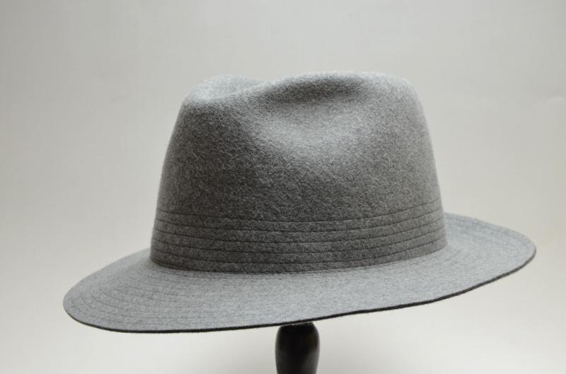 RETTERレッター フェルトハット  Shape memory hat (グレー/モカ) RE-K-1808126-2 【送料無料】