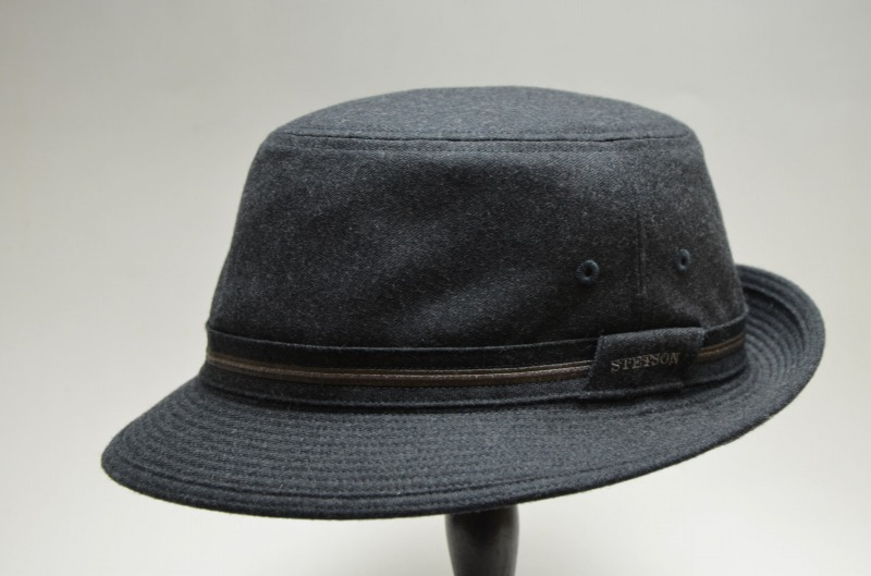 S - LL (gray   dark blue) SE124 with the thin wool flannel Alpen hat size  adjustment to play an active part for STETSON Stetson long time 76558e691bc