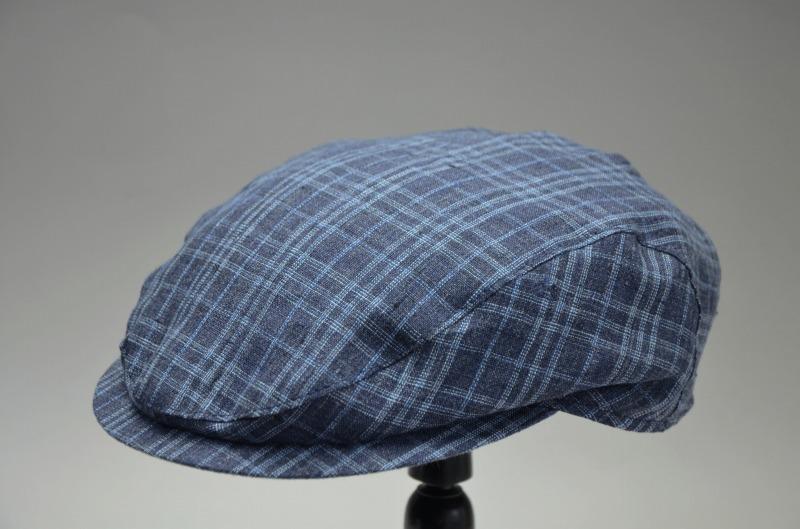 Wigensヴィゲンズ イタリア製生地 薄手軽量 洗えるリネンハンチング IVY slim cap 57cm,59cm,61cm 101226 【送料無料】