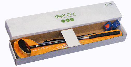 父の日、母の日、敬老の日のプレゼントにいかが?[グラウンドゴルフ]BH1400グランドゴルフクラブギフトセット【送料無料】/羽立