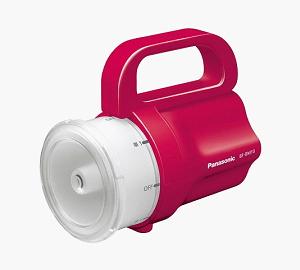 Panasonic パナソニック 電池がどれでもライト 誕生日プレゼント レッド セール特価品 BF-BM10-R