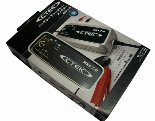 【おまけ付き】 CTEK(シーテック) バッテリーチャージャー&メンテナー ★MXS7.0JP