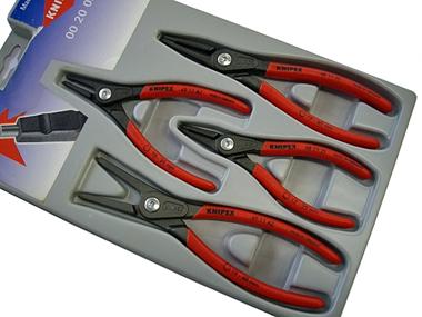 KNIPEX(クニペックス) 精密スナップリングプライヤーセット 4ピース ★002003SB