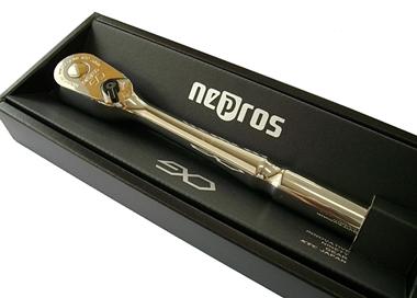 nepros(ネプロス) 12.7Sq ラチェット ★プッシュ式 ★90ギア ★NBR490