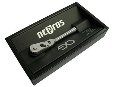 nepros(ネプロス) 6.3Sq フレックスラチェットハンドル ★90ギア ★手のひらサイズ ★NBR290F