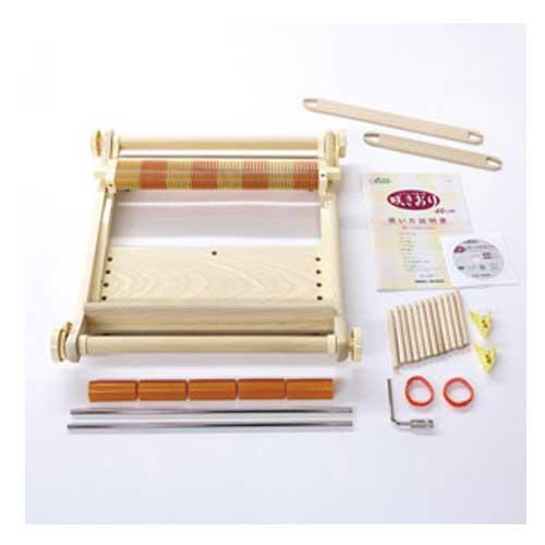 クロバー Clover 手織り機 咲おり 40cm 30羽セット 57-950 [送料無料] 手芸 手作り 洋裁