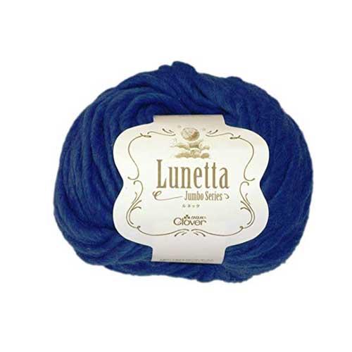 クロバー clover Lunetta ルネッタ 100g玉 60-577 ブルー系 5玉1袋