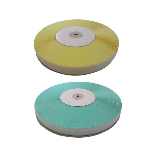 エコマジックテープ クラレファスニング A面フックとB面ループセット 幅25mm×長さ25m 白 粘着付タイプ 日本製