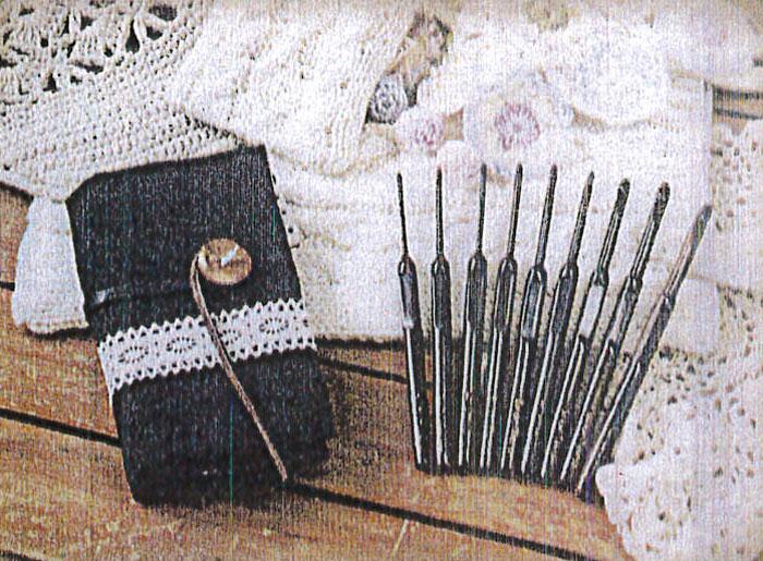 【送料無料】ミササ 国産手作り 黒檀かぎ針ケース付きセット No.7311 フルセット 手芸 手作り 洋裁