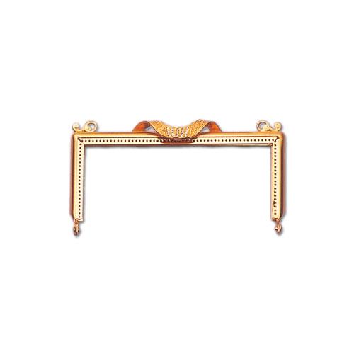 [送料無料] TOHO トーホー KL-2 口金 14cm 金具のお色をお選びください ビーズ 織り 真ちゅう 手芸 手作り 洋裁 ママ割り
