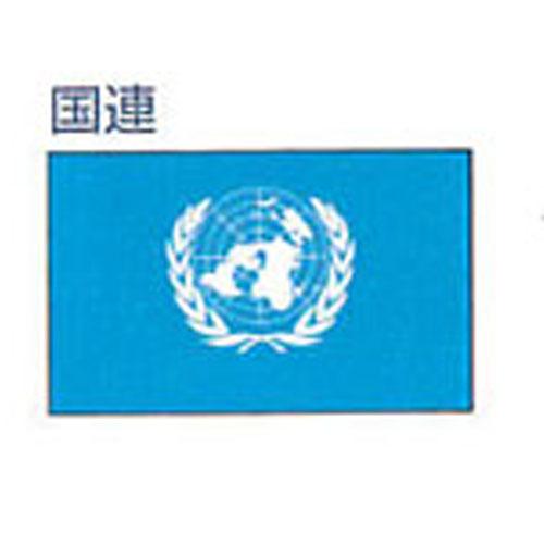 【ママ割エントリ―でポイント5倍】エクスラン外国旗 90×135 国連(小) アクリル100% [送料無料] 旗 フラッグ FLAG 迎賓 式典