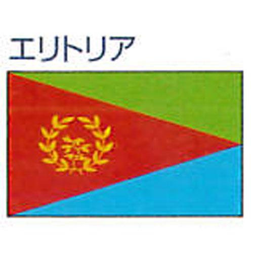 エクスラン外国旗 90×135 エリトリア(小) アクリル100% [送料無料] 旗 フラッグ FLAG 迎賓 式典