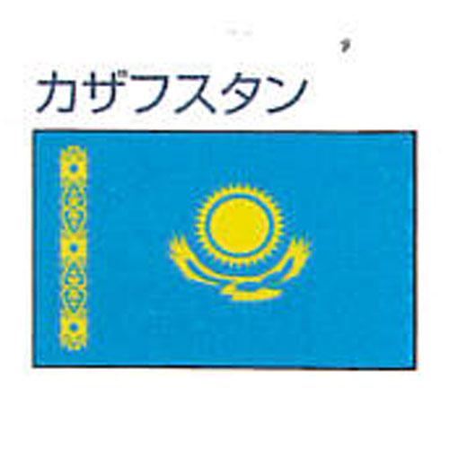 エクスラン外国旗 120×180 カザフスタン(大) アクリル100% [送料無料] 旗 フラッグ FLAG 迎賓 式典