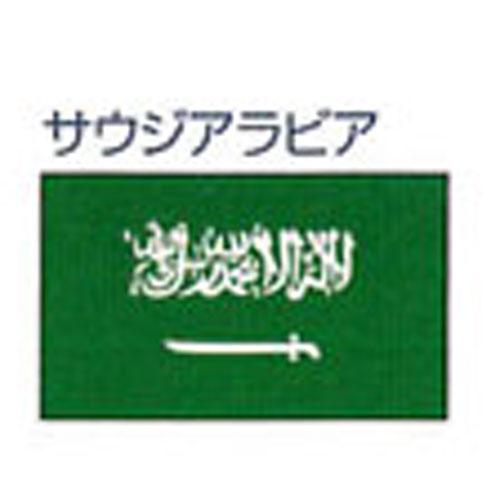 エクスラン外国旗 90×135 サウジアラビア(小) アクリル100% [送料無料] 旗 フラッグ FLAG 迎賓 式典