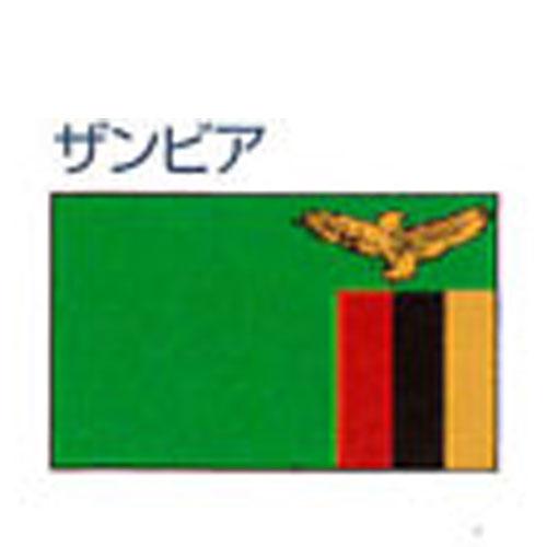 エクスラン外国旗 120×180 ザンビア(大) アクリル100% [送料無料] 旗 フラッグ FLAG 迎賓 式典
