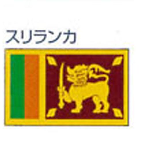 【ママ割エントリーでポイント5倍】エクスラン外国旗 90×135 スリランカ(小) アクリル100% [送料無料] 旗 フラッグ FLAG 迎賓 式典