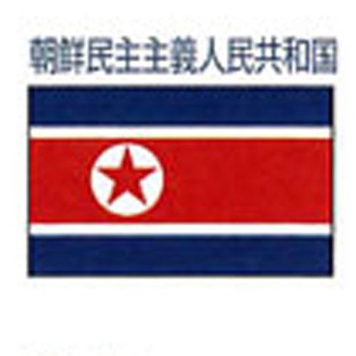 エクスラン外国旗 90×135 朝鮮民主主義人民共和国(小) アクリル100% [送料無料] 旗 フラッグ FLAG 迎賓 式典